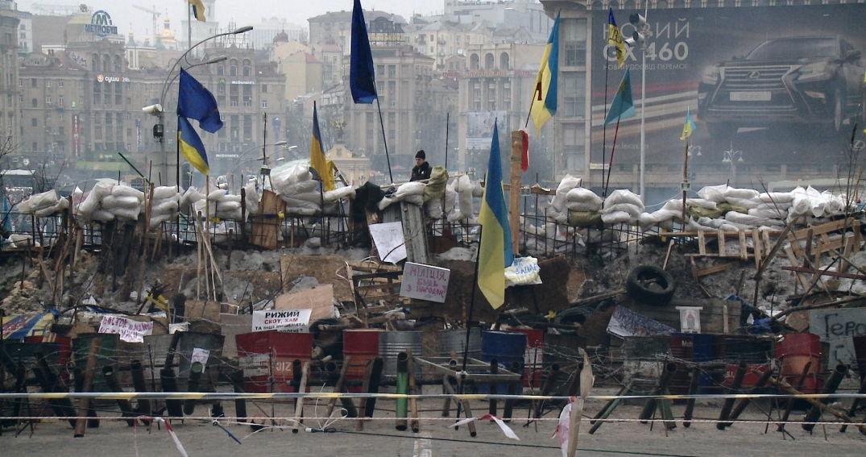 Des scènes du siège russe dans le film Maïdan