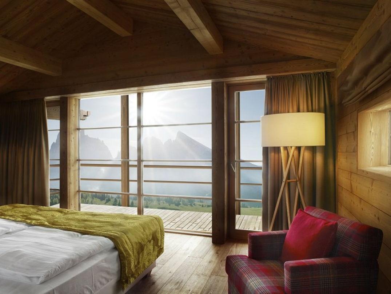 Dans la chambre du Mountain Lodge