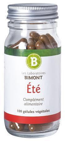Complément alimentaire Bimont pour l'été