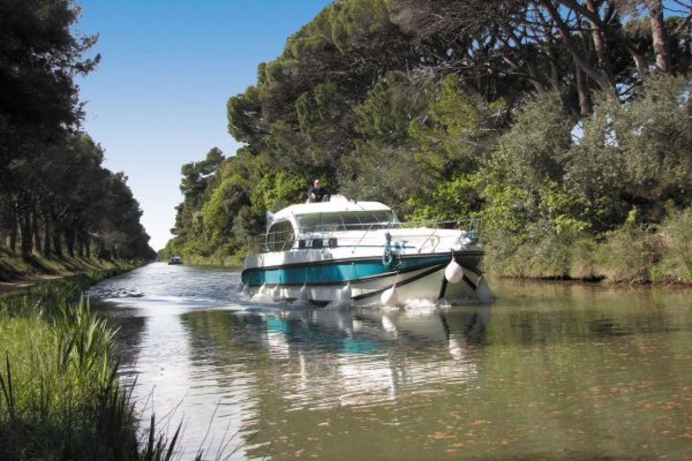 Notre bateau sans permis sur la Canal du Midi