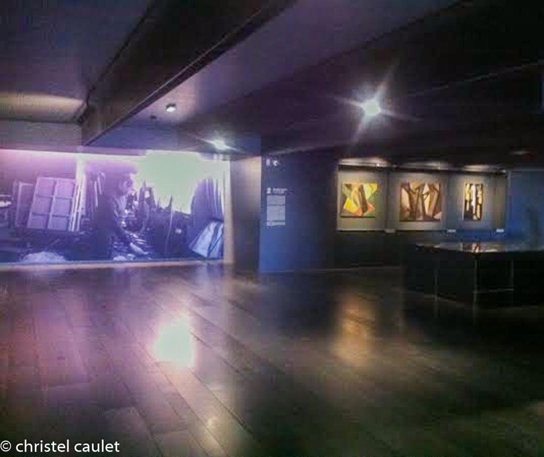 Dans les salles du musée Soulages à Rodez