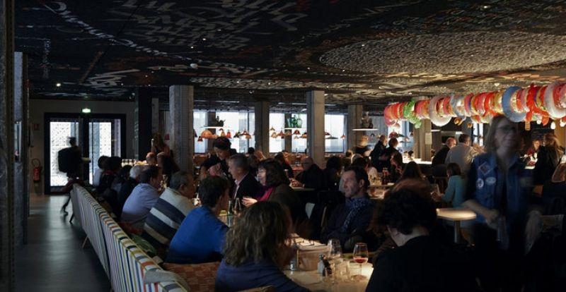 Le restaurant du Mama Shelter à Bordeaux