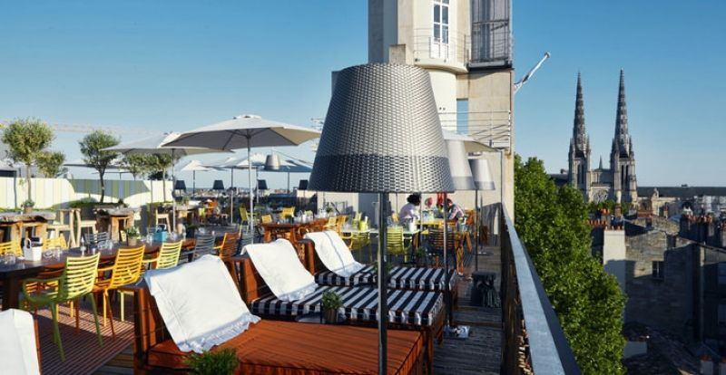 Roof-top au Mama Shelter à Bordeaux