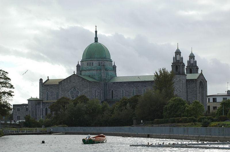 Un autre point de vue sur la cathédrale de Galway