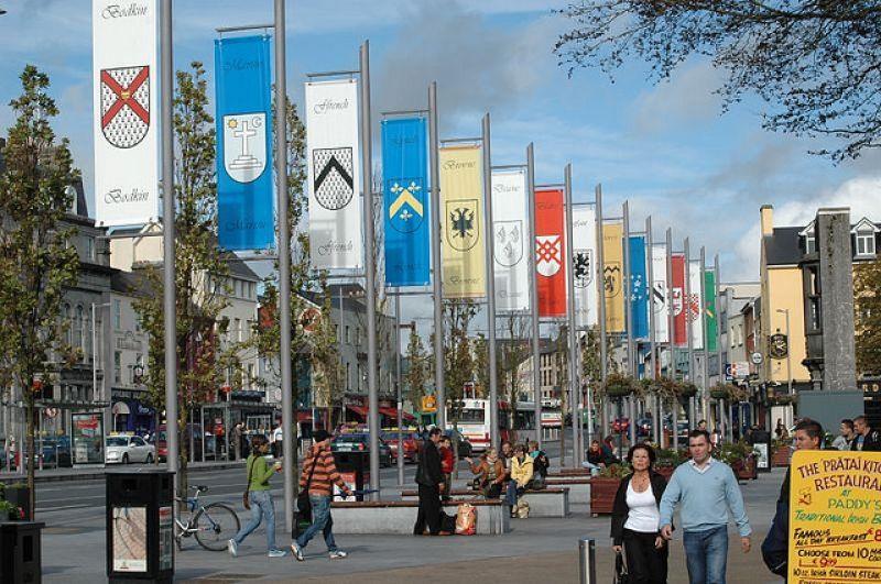 La place de l'indépendance de la république d'Irlande