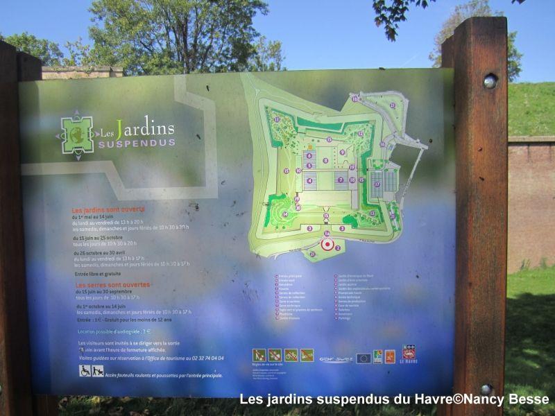 Voyagez stylées : Les jardins suspendus du Havre 1