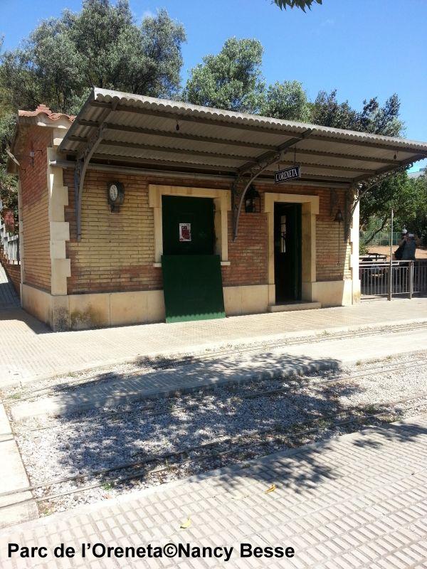 Voyagez stylées : Balade bucolique et en petit train dans le parc de l'Oreneta 04