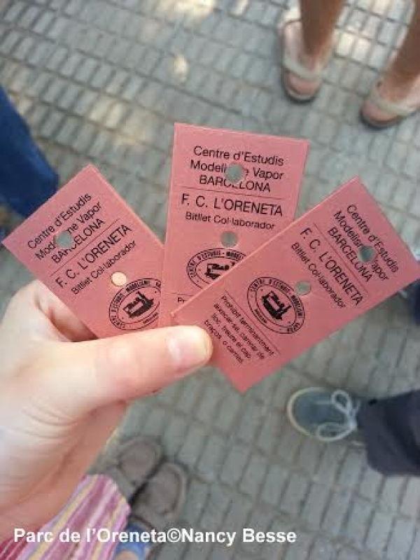 Les billets pour visiter le parc de l'Oreneta