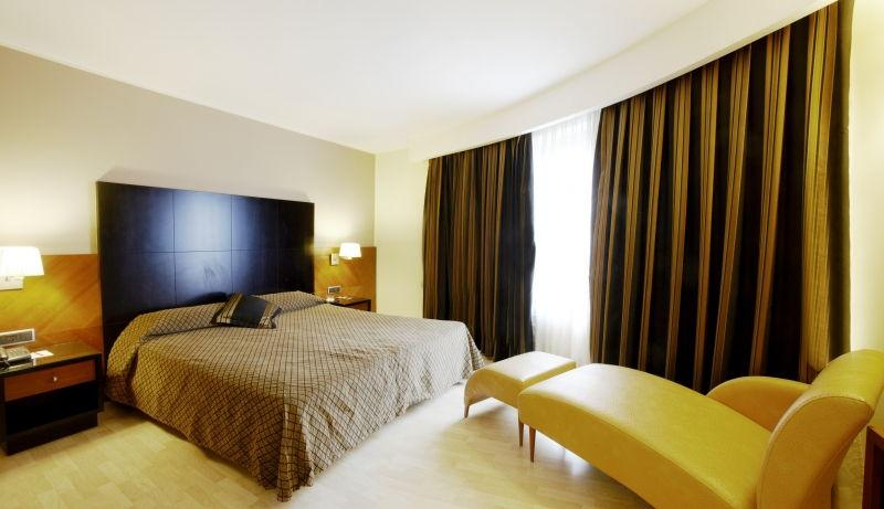 La chambre de l'hôtel Carlton à Andorre-la-vieille