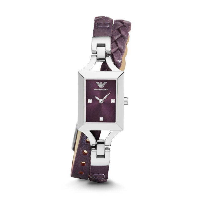 Double bracelet chez Emporio Armani