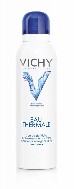 Un spray d'eau thermale de Vichy