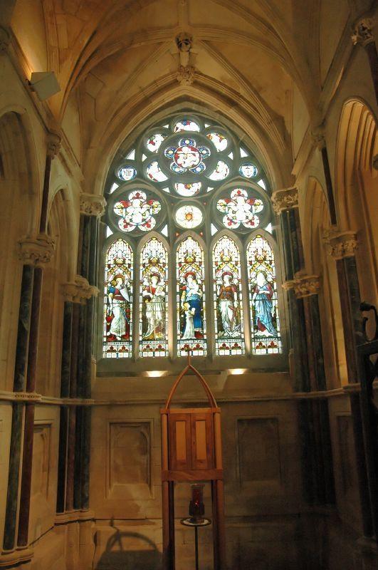 Les vitraux de l'abbaye du Château de Kylemore