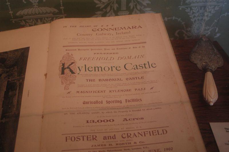 Les archives du Château de Kylemore