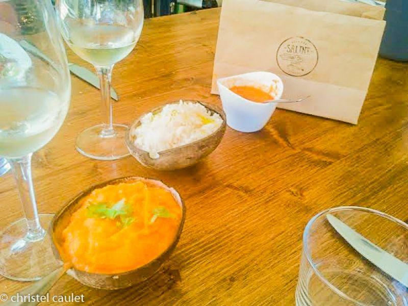 Manger au restaurant les Salines à Biarritz