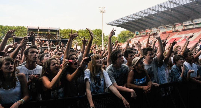 Public en liesse pour Orelsan à Big Festival