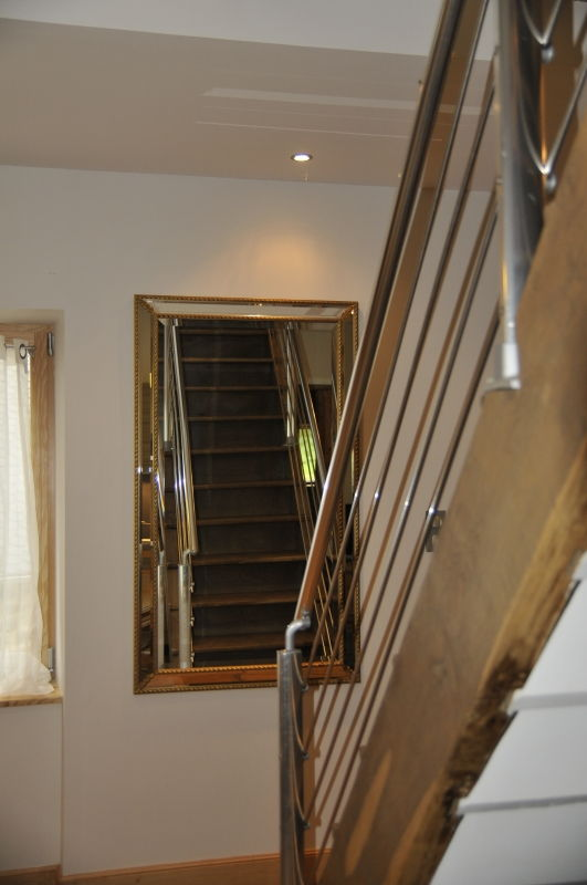 Cage à escalier à lassouts