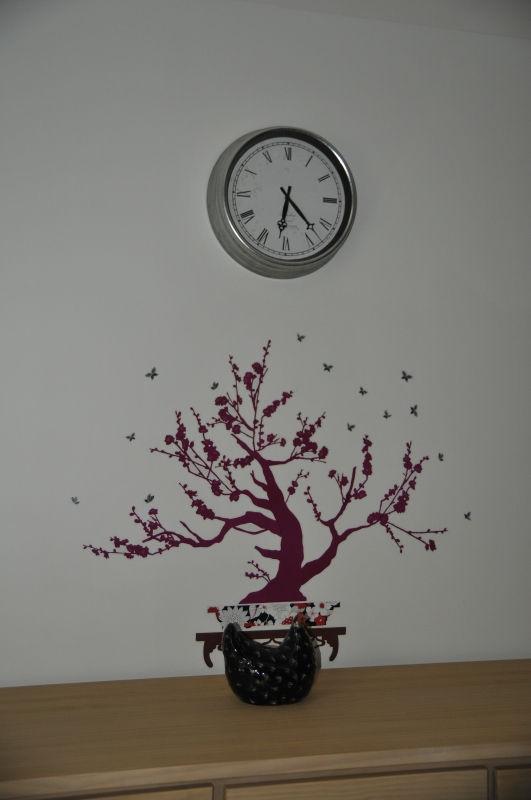 Décoration murale dans le 3e gite à lassouts