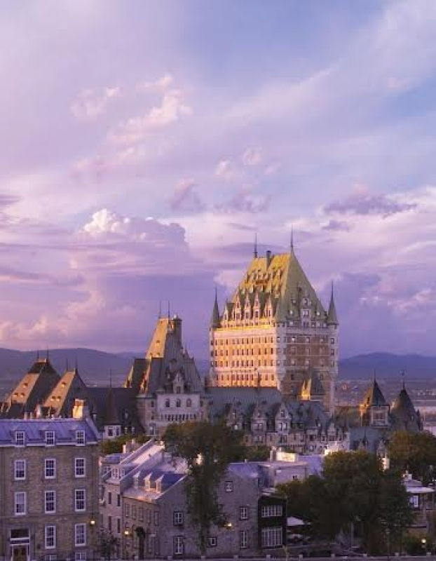 L'hôtel Fairmont le Château Frontenac à Québec se démarque dans le paysage