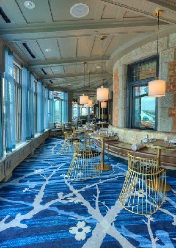 Le bar lounge de l''hôtel Fairmont le Château Frontenac à Québec