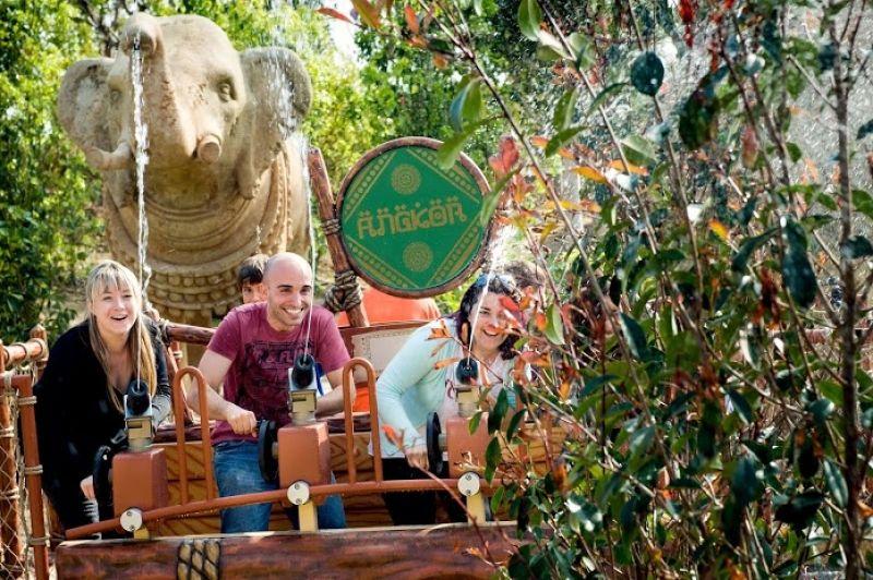 Direction Angkor à Portaventura