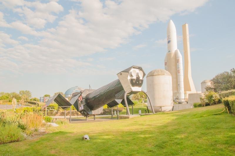 A la Cité de l'Espace à Toulouse