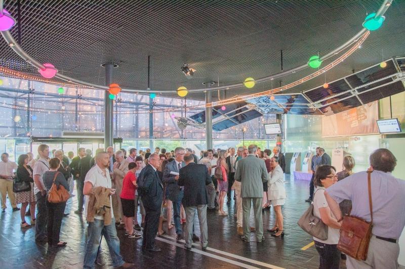 Inauguration de la nouvelle exposition à la Cité de l'Espace
