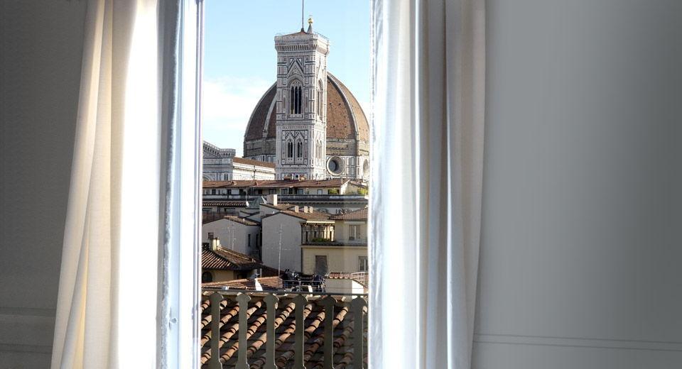 Palazzo Tornabuoni en plein cœur de Florence : vue magique