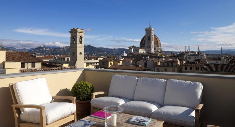 Palazzo Tornabuoni en plein cœur de Florence : terrasse sur les toits !