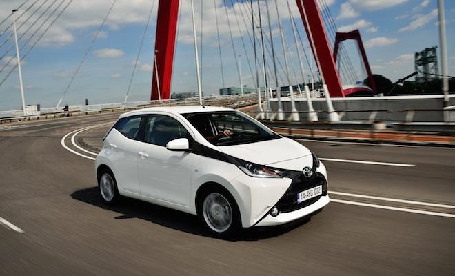 Aygo est une nouvelle citadine chez Toyota