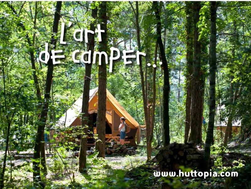 Huttopia camper chic c'est possible