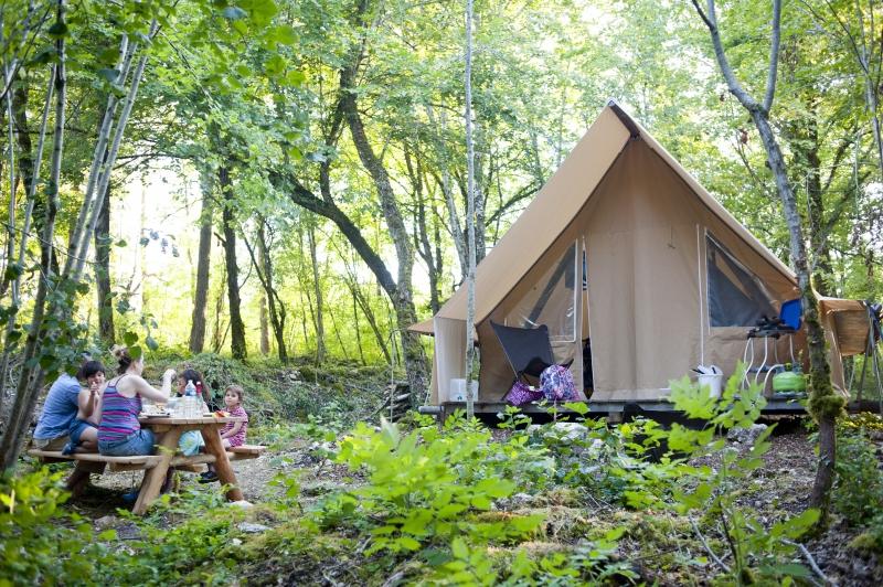 Les tentes Huttopia
