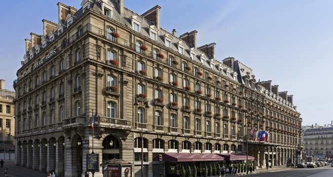 Le Hilton hôtel à Paris