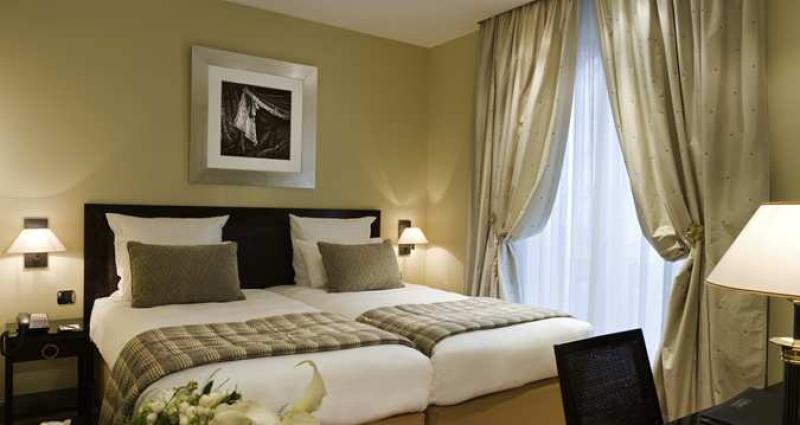 Ma chambre au Hilton de Paris