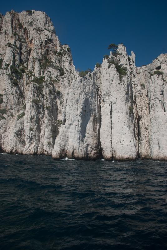 Superbes, les falaises des calanques de Marseille