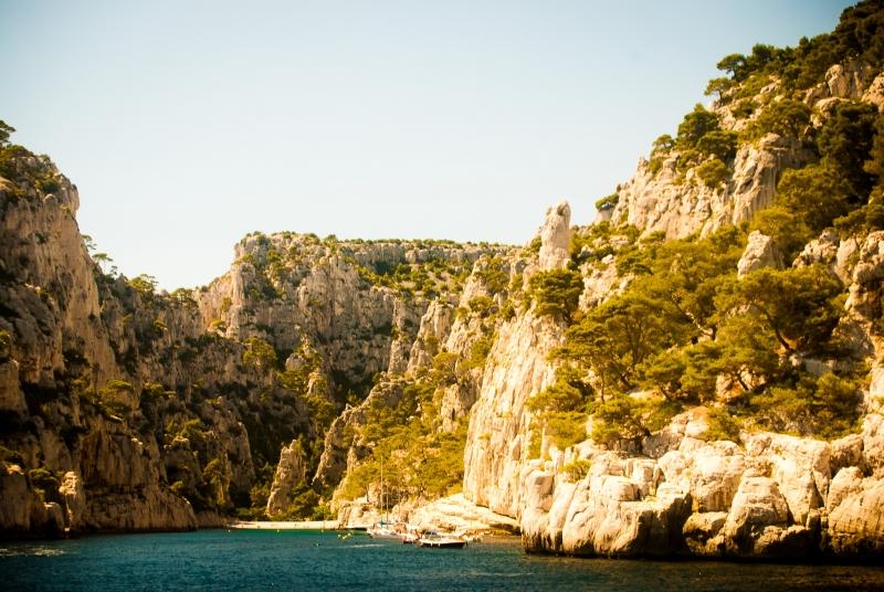Un décor naturel sublime dans les Calanques de Marseille