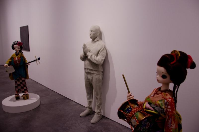 Sculpture de Pharrell Williams