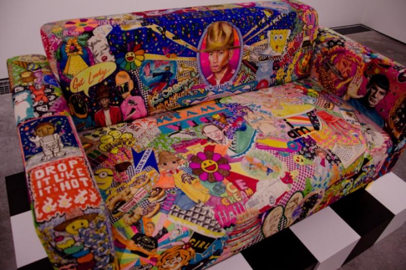 Un canapé design par Pharrell Williams