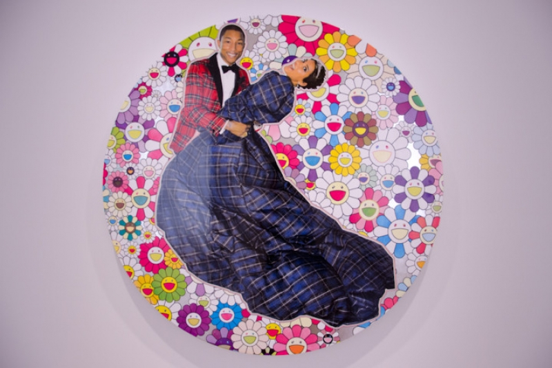 Montage photos avec Pharrell Williams