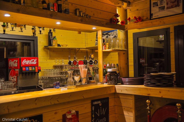 Le bar du Cabanou à Peyragude