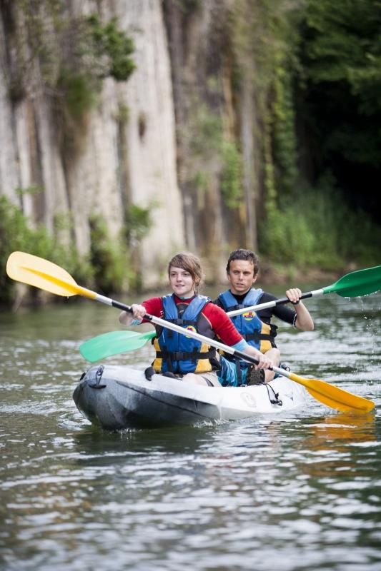 Faire du Canoë Kayak sur des eaux propres