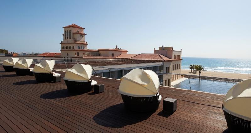 Vue imprenable au Méridien Ra Beach Hôtel & spa à San Salvador