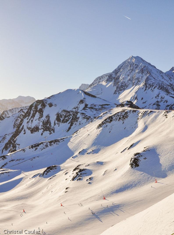 Quoi faire à Peyragude ! Montagne enneigée !