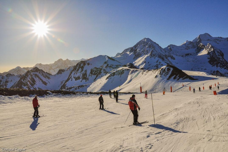 Skier à son rythme à Peyragude