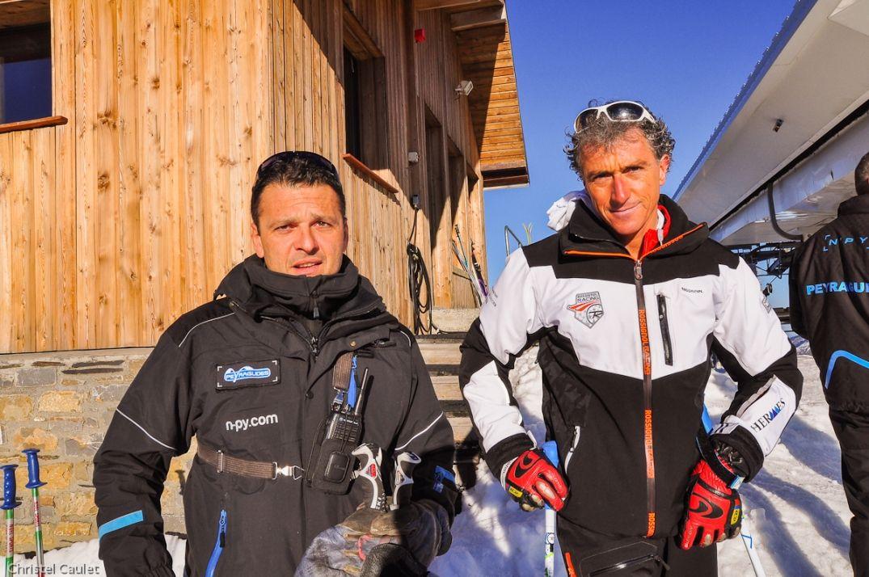 Les skieurs sont prêts à Peyragude