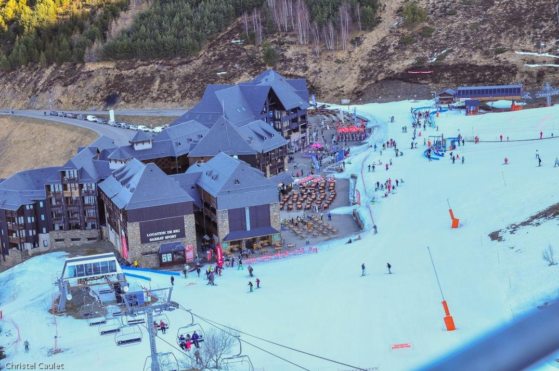 La station de ski de Peyragude