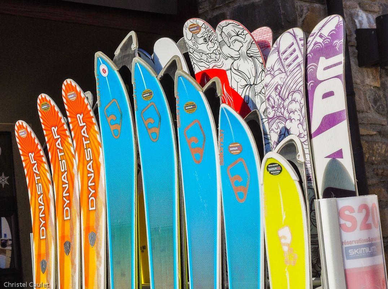 Skis propres à Peyragude