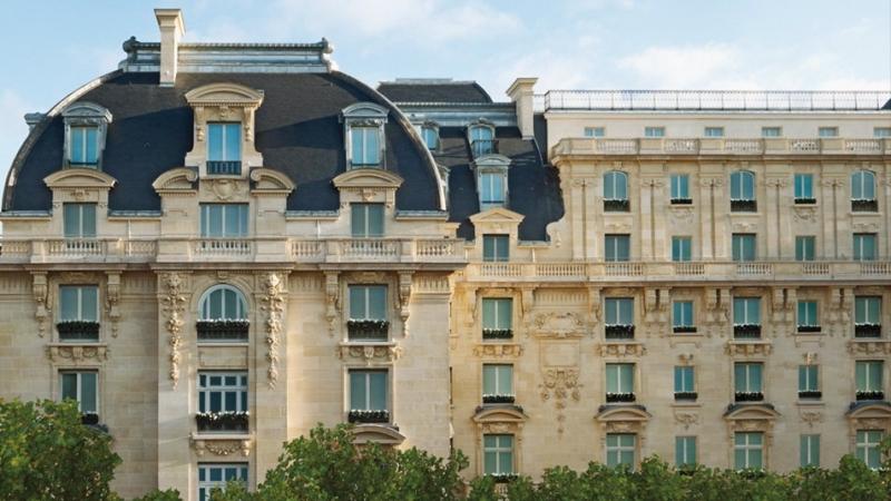 La façade du Péninsula