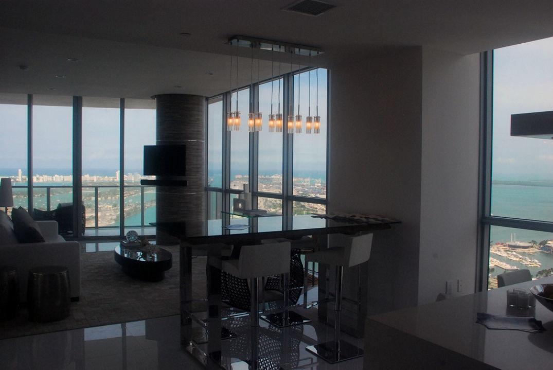 Dans la cuisine à l'hôtel Viceroy à Miami