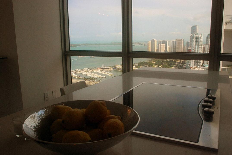 Depuis la cuisine au Viceroy Hôtel à Miami