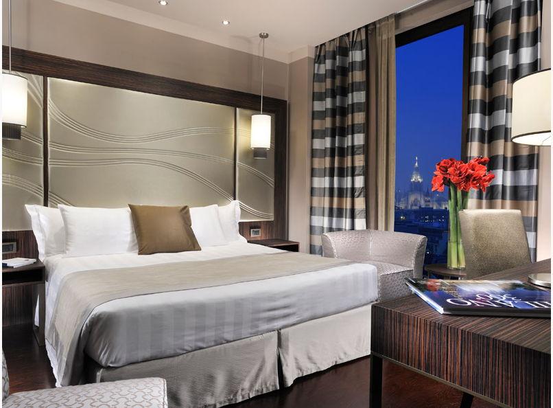 Une autre chambre de l'Uptown Palace à Milan